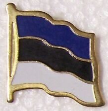 Hat Lapel Pin Tie Tac Push Flag of Estonia NEW