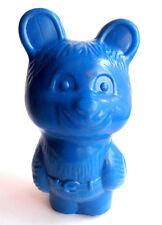 1970s Ussr Russian Soviet Plastic Toy Doll Blue Bear