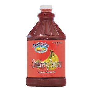 Fruit-N-Ice Granita /Frozen Drink Mix STRAWBERRY BANANA