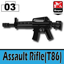 T86 (W111) Assault Rifle toy compatible with toy brick minifigures Army M4