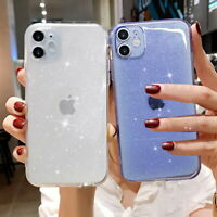 Glitter Case For iPhone 11 Pro Max 7 8 Plus XR XS Ultra Thin Soft Silicone Cover