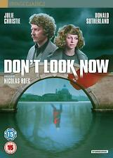 DON'T LOOK NOW di Nicolas Roeg 2xDVD in Inglese NEW .cp