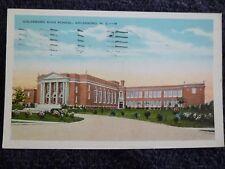 1938 The Goldsboro High School in Goldsboro, NC North Carolina PC