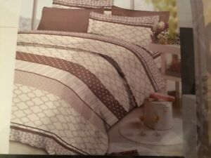 New in plastic pack Traditional At Home 800TC 100% Cotton King Sheet Set