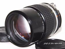 [Excellent] Nikon Ai-s Nikkor 135mm f/2.8 Telephoto Lens Ais from JAPAN