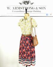Unbranded Hippy, Boho Knee Length Floral Skirts for Women