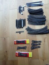 Hornby 00 gauge nickel silver track some new over 100 pieces