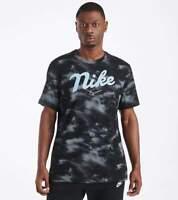 Nike DNA T-Shirt Size XL XLarge Black White Blue CD1096-101 Men NWT Tie Dye UNC