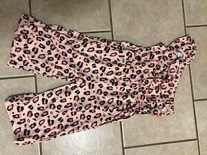 Girls Boutique Clothing Romper One Shoulder Leopard Print Size 5/6