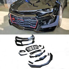 For Chevrolet Camaro 16-19 Front Bumper Spoiler Body Kit With Grill Customized