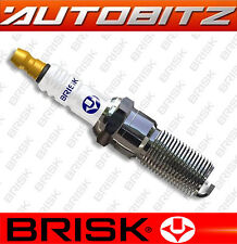 FITS KIA VENGA 1.4 1.6 2009> BRISK SPARK PLUGS X4  FAST DISPATCH