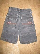 Mini Boden Grey Jean Shorts Size 4