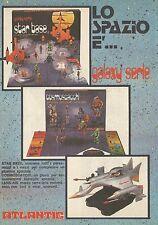 X4430 Cosmoscacchi galaxy serie - ATLANTIC - Pubblicità 1979 - Advertising