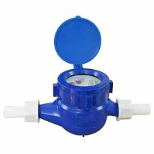 15180515 Budget Plastic Garden Water Flow Measuring Meter 15MM Cold Dry Counter