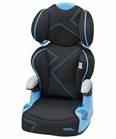 2-in-1 Big Kid High Back Booster Car Seat Chair Travel Toddler Safety Unisex NEW