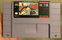 SUPER BLACK BASS Super Nintendo SNES Game Cartridge ~ Tested & Working