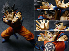 Super DBZ Dragon Ball Z Son Gokou Goku Kamehameha Ver. Figure Statue 20cm NoBox