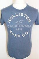 HOLLISTER Mens Blue Short Sleeve T Shirt Size Small