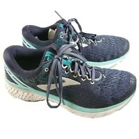 Brooks Ghost 11 120277B493 Running Shoes Walking Women's Size 9 Navy Blue