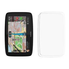 2 X frontal transparente Protector de Pantalla LCD Pantalla Brillante De Película Lámina Para TomTom GO 620