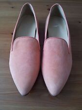GANT SARAH Slip On Shoes - Brand new - Size 40 - Corn Yellow/Pink G31 - Suede
