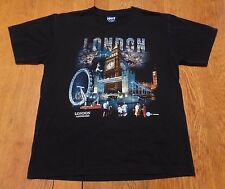 #2746-8 Hot of London - London Landmark Graphic T-Shirt W-M