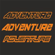 2  30 x 4cm Adventure Aufkleber Racing Motorradaufkleber Sticker passt für ktm F