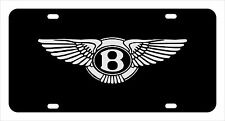 """""""BENTLEY"""" License Plate, Custom Made of Chrome Plated Metal"""