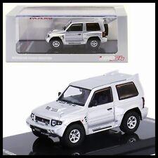 INNO64 1/64 MITSUBISH PAJERO EVOLUTION SILVER DIECAST CAR