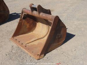 "NC 48"" Cleanout Bucket Excavator Attachment CAT 308 bidadoo"