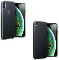 Silicone Slim TPU Gel Back Protector Case Cover for Apple iPhone XS Max