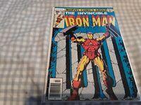 The Invincible Iron Man #100 FN+ 6.5 Jim Starlin Cover