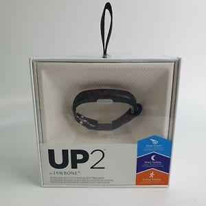 Jawbone UP2 Wireless HeartRate Activity Sleep Tracker Wristband Thin Strap Black