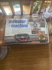 New listing Bond Incredible Sweater Machine