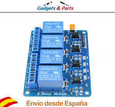 Modulo Rele 4 Canales 5V 10A ARM PIC DSP para Arduino, Raspberry - Nuevo!!!