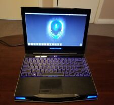alienware m11x i7, 8gb ram, 256gb ssd, new monitor and keyboard.