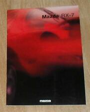 Mazda RX7 RX-7 Mk3 Brochure 1993 - Rare Item