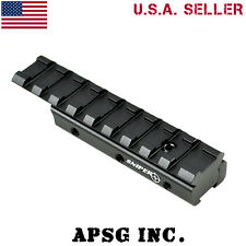 Sniper Dovetail .22 to Picatinny Scope Mount Rail Adaptor for Airguns Air Rifles