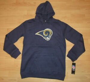 Los Angeles Rams NFL Team Apparel Hoodie Jacket Size Youth Small