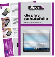2x Pantalla para Lenovo Tab M10 HD Protector de protectores transparente dipos