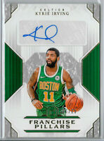 2018-19 KYRIE IRVING Panini Cornerstones Franchise Autographs Auto SP /25 Celtic