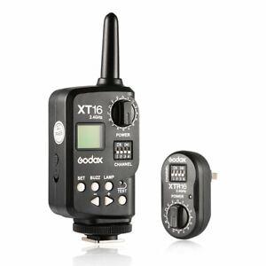 Godox XT-16 2.4G Remote Control Trigger Transmitter Receiver Studio Flash Light