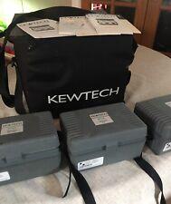 Kewtech KT 35 45 56 RCD Loop Insulation continuity tester kit KT16B