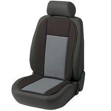 (370) 1 x Sitzauflage Bergamo Autoauflage Autositzauflage Grau / Schwarz Auto