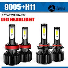 Combo LED Headlight Bulb for 2011-2018 Toyota Sienna Hi-Low 9005+H11 & Fog Light