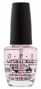 OPI Natural Nail Base Coat 15mL NEW FREE SHIPPING