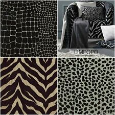 Porter & Stone | Limpopo Animal Safari Chenille Curtain Upholstery Fabric