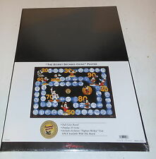 Disney Decades Coins Poster NEW Sealed with EXCLUSIVE Tugboat Mickey Coin Rare