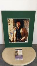Chuck Norris autographed 8x10 color photo with Lot 138