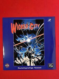 Laserdisc Wicked City / PAL / deutsch LD